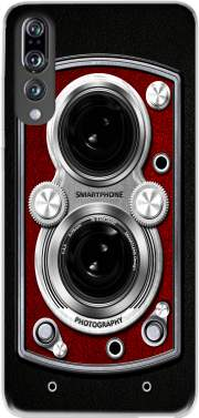 Vintage Camera Red Case for Huawei P20 Pro / Plus