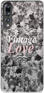 Vintage love in black and white Case for Huawei P20 Pro / Plus