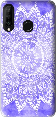 Bohemian Flower Mandala in purple Case for Huawei P30 Lite / Nova 4
