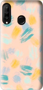 BRUSH STROKES Case for Huawei P30 Lite / Nova 4