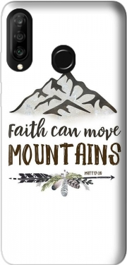 Faith can move montains Matt 17v20 Bible Blessed Art Huawei P30 Lite / Nova 4 Case