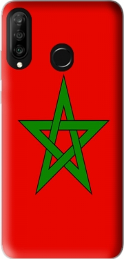 Flag Morocco Case for Huawei P30 Lite / Nova 4
