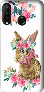 Flower Friends bunny Lace Huawei P30 Lite / Nova 4 Case