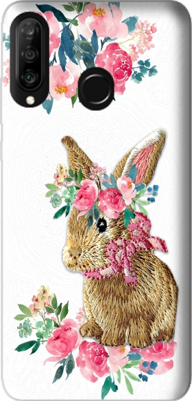 Case Flower Friends bunny Lace for Huawei P30 Lite / Nova 4