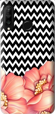 flower power and chevron Huawei P30 Lite / Nova 4 Case