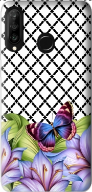 flower power Butterfly Huawei P30 Lite / Nova 4 Case