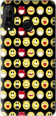 funny smileys Case for Huawei P30 Lite / Nova 4