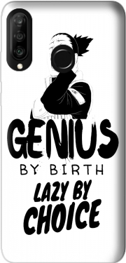 Genius by birth Lazy by Choice Shikamaru tribute Huawei P30 Lite / Nova 4 Case