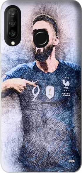 Case Giroud The French Striker for Huawei P30 Lite / Nova 4