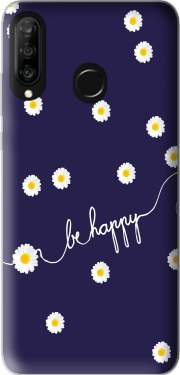 Happy Daisy Case for Huawei P30 Lite / Nova 4
