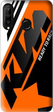 KTM Racing Orange And Black Case for Huawei P30 Lite / Nova 4