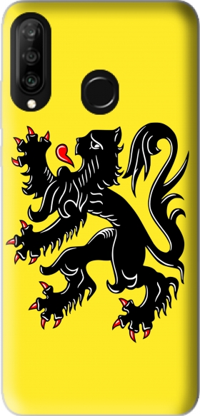 Case Lion des flandres for Huawei P30 Lite / Nova 4