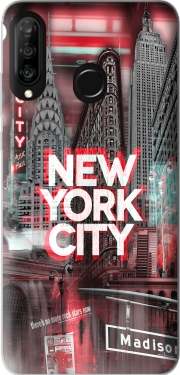 New York City II [red] Case for Huawei P30 Lite / Nova 4