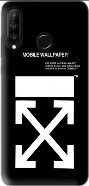 Off White Huawei P30 Lite / Nova 4 Case
