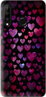 Space Hearts Case for Huawei P30 Lite / Nova 4