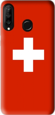 Switzerland Flag Case for Huawei P30 Lite / Nova 4