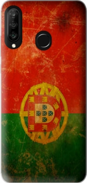 Vintage Flag Portugal Case for Huawei P30 Lite / Nova 4