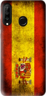 Flag Spain Vintage Case for Huawei P30 Lite / Nova 4