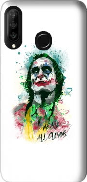 Watercolor Joker Clown Huawei P30 Lite / Nova 4 Case