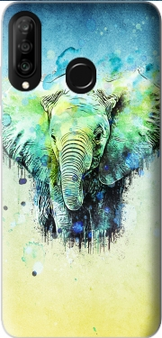 watercolor elephant Huawei P30 Lite / Nova 4 Case