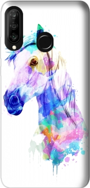 watercolor horse Huawei P30 Lite / Nova 4 Case