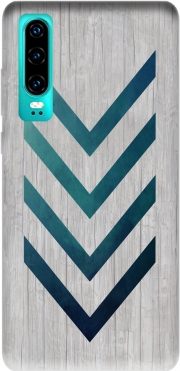 Blue Arrow  Case for Huawei P30