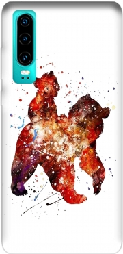 Brother Bear Watercolor Case for Huawei P30