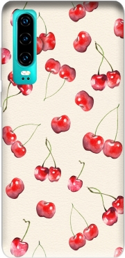 Cherry Pattern Case for Huawei P30