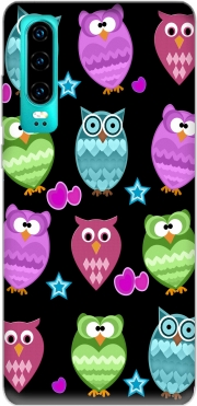 funky owls for Huawei P30