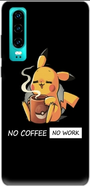 Pikachu Coffee Addict Case for Huawei P30