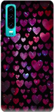 Space Hearts Case for Huawei P30