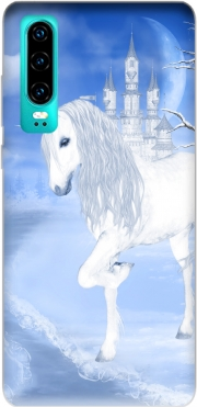 The White Unicorn Case for Huawei P30