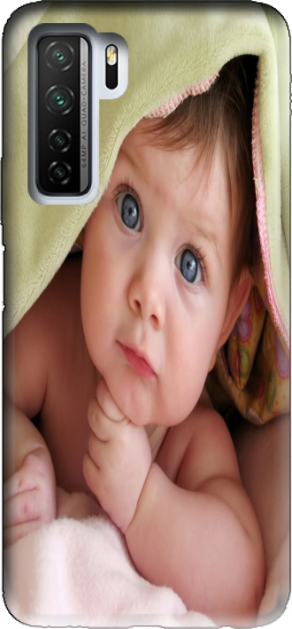 Case HUAWEI P40 Lite 5G / Honor 30s / Nova 7 se with pictures baby