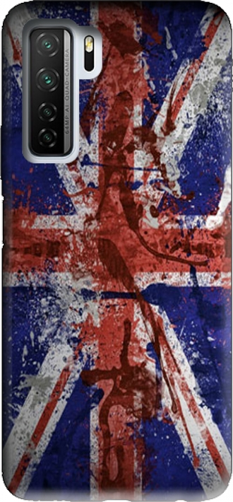 Case HUAWEI P40 Lite 5G / Honor 30s / Nova 7 se with pictures flag