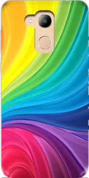 Rainbow Abstract Case for Honor 6c Pro / Huawei V9 Play