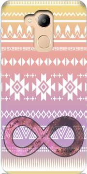 Pink Aztec Infinity Case for Honor 6c Pro / Huawei V9 Play
