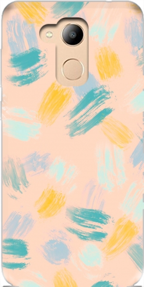 Case BRUSH STROKES for Honor 6c Pro / Huawei V9 Play