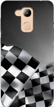 Checkered Flags Case for Honor 6c Pro / Huawei V9 Play