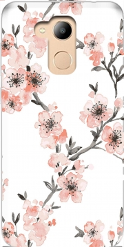Cherry Blossom Aquarel Flower Honor 6c Pro / Huawei V9 Play Case