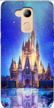 Disneyland Castle Case for Honor 6c Pro / Huawei V9 Play