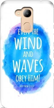 Even the wind and waves Obey him Matthew 8v27 Case for Honor 6c Pro / Huawei V9 Play