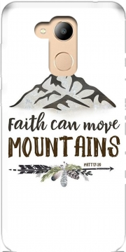 Faith can move montains Matt 17v20 Bible Blessed Art Case for Honor 6c Pro / Huawei V9 Play
