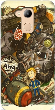 Fallout Painting Nuka Coca Case for Honor 6c Pro / Huawei V9 Play