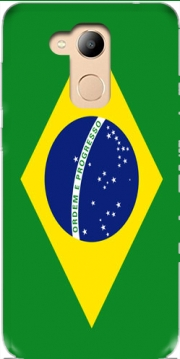 Flag Brasil Case for Honor 6c Pro / Huawei V9 Play