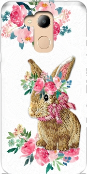 Flower Friends bunny Lace Honor 6c Pro / Huawei V9 Play Case