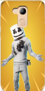 Fortnite Marshmello Skin Art Case for Honor 6c Pro / Huawei V9 Play