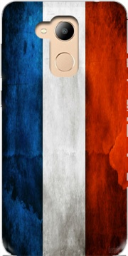 Flag France Vintage Case for Honor 6c Pro / Huawei V9 Play