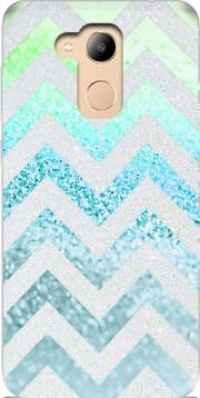FUNKY CHEVRON BLUE Case for Honor 6c Pro / Huawei V9 Play