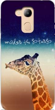 Giraffe Love - Right Case for Honor 6c Pro / Huawei V9 Play