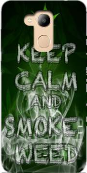 Keep Calm And Smoke Weed Case for Honor 6c Pro / Huawei V9 Play